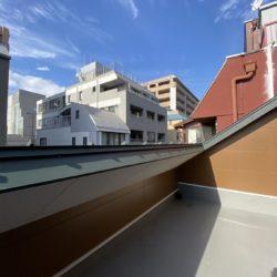 4階のルートップバルコニー